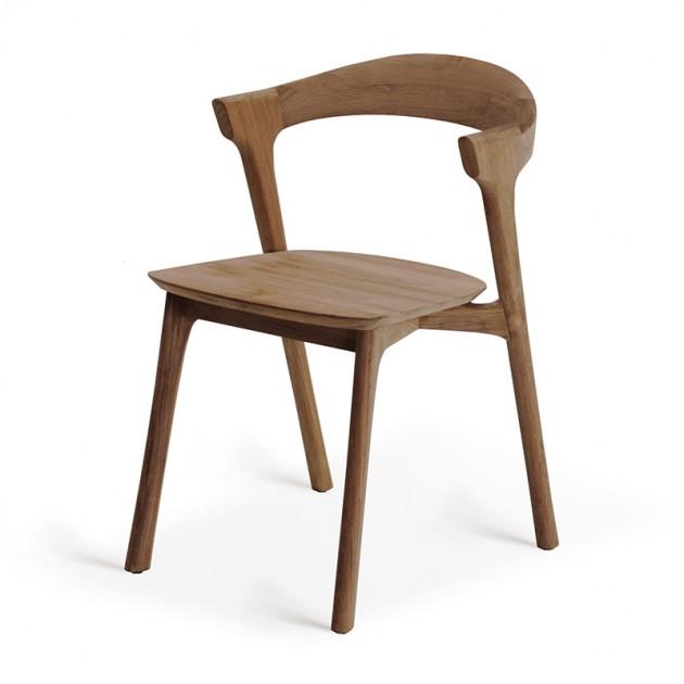 silla de comedor Bok teca Ethnicraft