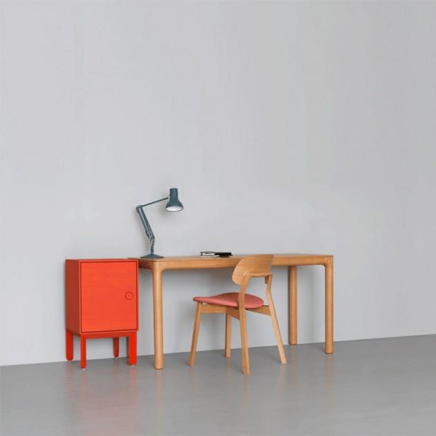 silla Nonoto roble tapizada ambiente Zeitraum