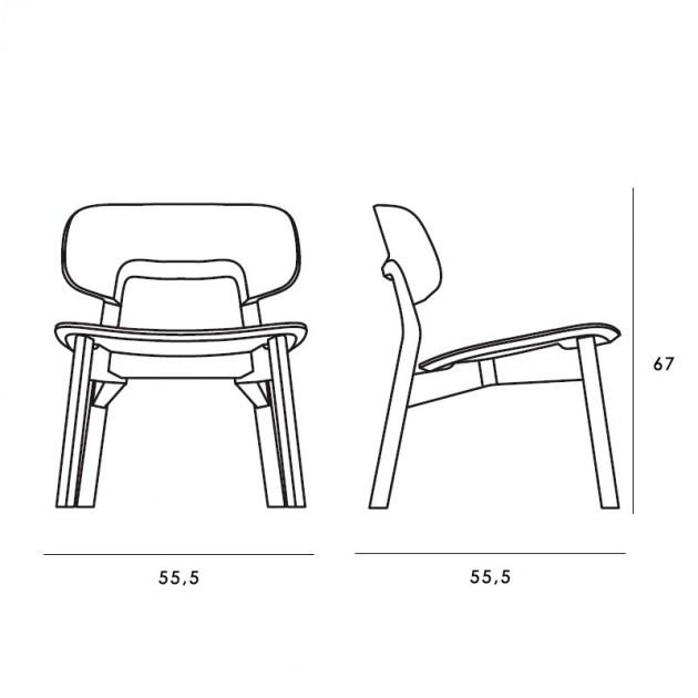 medidas butaca Nonoto Lounge Zeitraum