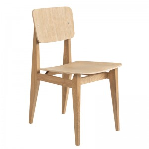 Silla C-Chair Dining Chair de Gubi sin tapizado en Moises Showroom