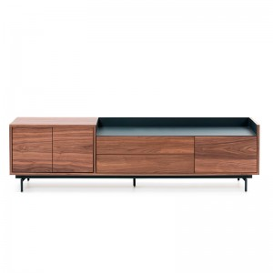 Mueble TV Valley nogal de Teulat en Moises Showroom