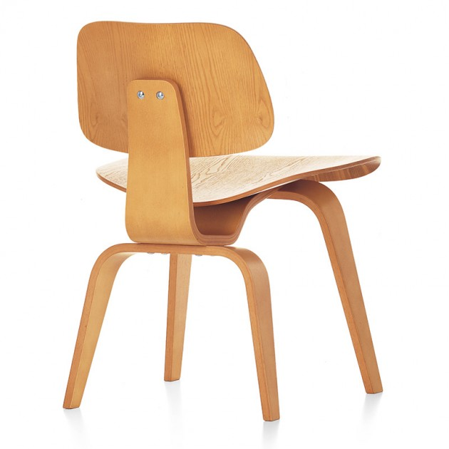DCW Wood dining chair Vitra