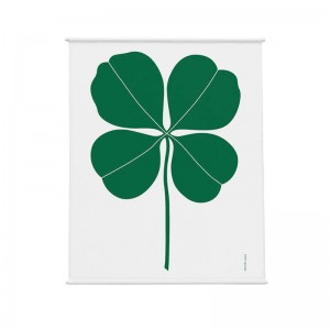 tapiz Environmental wall hanging four leaf clover Vitra