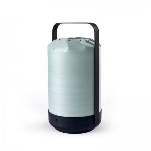 Lámpara portátil Mini chou Luzifer turquesa