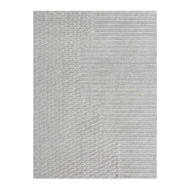 Alfombra Chaddar grey de Gan Rugs en Moises Showroom