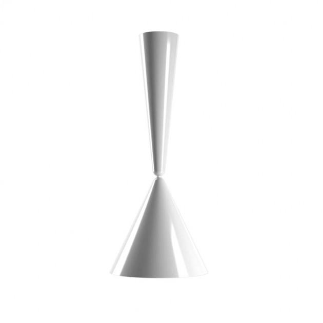 Lámpara suspensión Diabolo Flos blanca