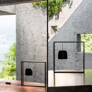 ambientes ventanal Gaku Wire lámpara de sobremesa Flos