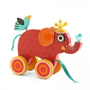 Elefante arrastre Indy Djeco