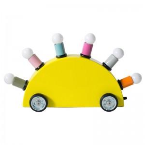 Lámpara Super versión amarilla Memphis Milano