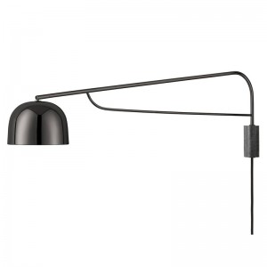 Aplique pared Grant 111 negro Normann Copenhagen