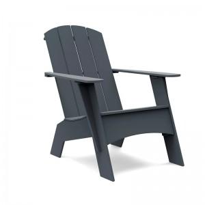 butaca Adirondack alta respaldo curve charcoal Loll Designs