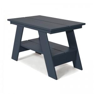 mesa auxiliar Adirondack gris charcoal Loll designs