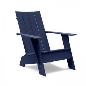 Butaca Adirondack azul navy Flat Loll Designs
