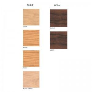 Acabados madera mesa CH008 de Carl Hansen