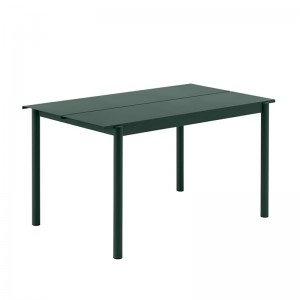 Mesa Linear Steel Table de Muuto en Moises Showroom