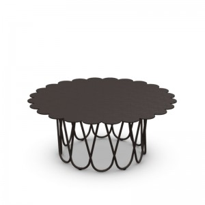 mesa auxiliar Flower Vitra antracita