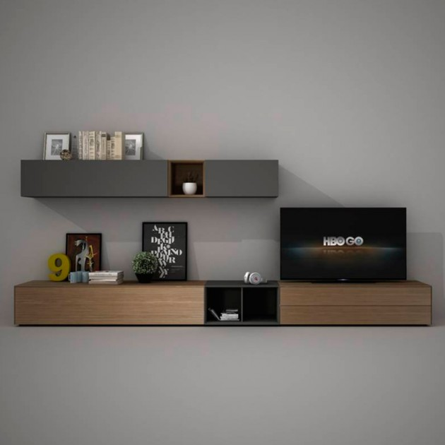 Mueble TV Freestyle de Arlex, composición 76 en Moises Showroom