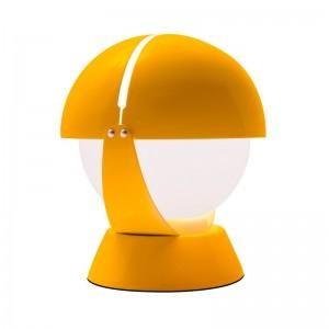 Lámpara Buonanotte amarilla sobremesa Stilnovo