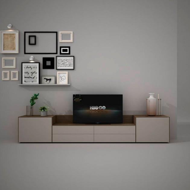 Mueble TV Freestyle de Arlex, composición 70.