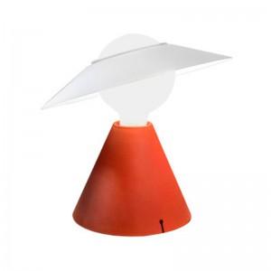 Lámpara Fante rojo ladrillo Stilnovo