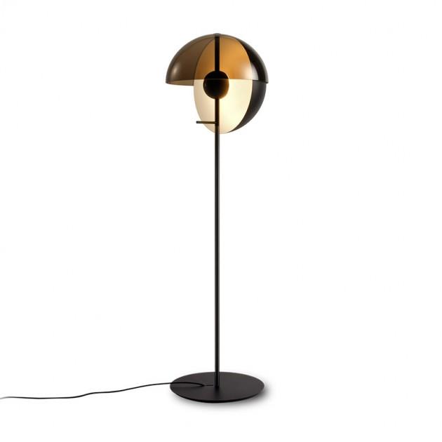 lámpara de pie Theia Marset negra