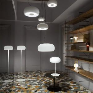 colección lámparas Vetra Showroom Marset Milán