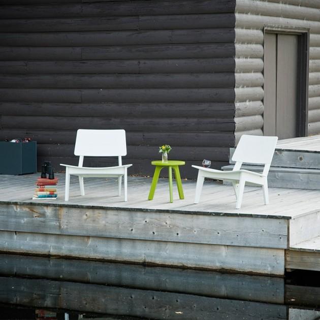 exterior con butacas Lago Loll designs
