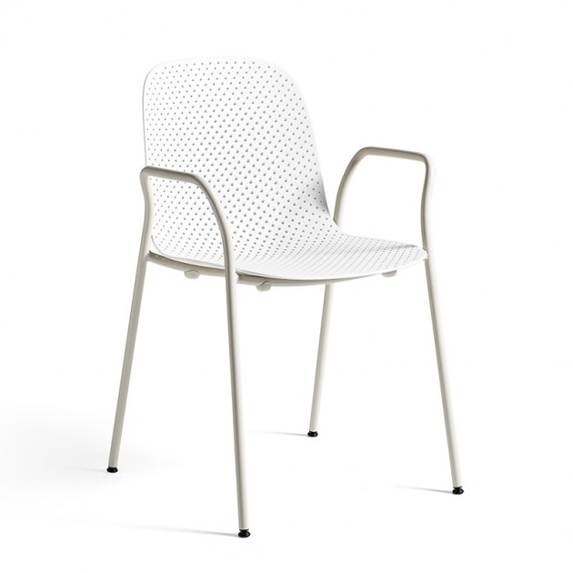 Silla 13Eighty armchair HAY  blanca