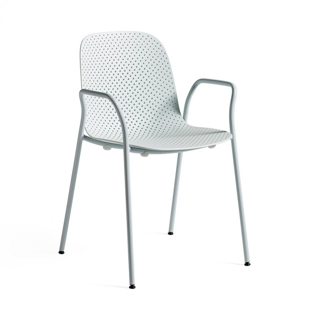 Silla 13Eighty armchair HAY azul