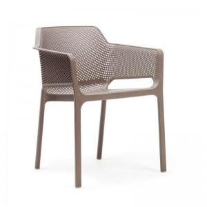 silla Net de exterior tortora Nardi