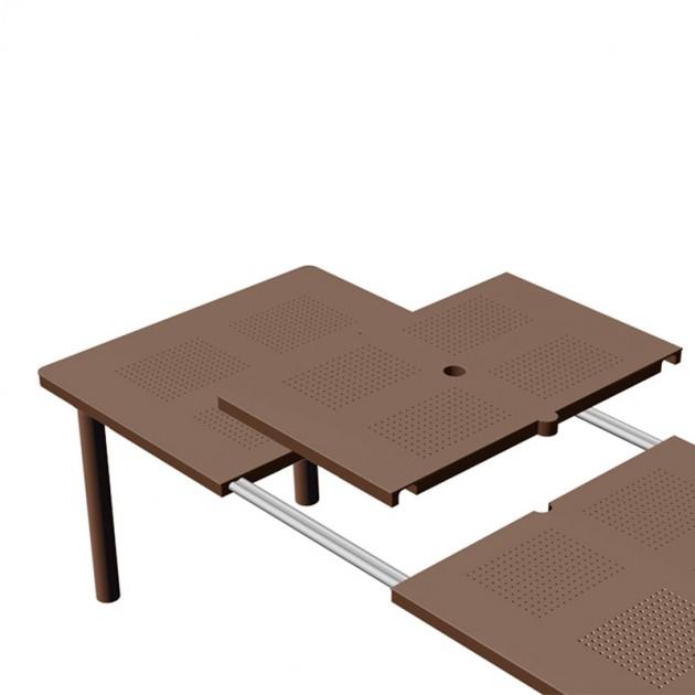 apertura extensible mesa de exterior Libeccio Nardi