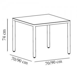 resol mesa barcino 4 patas medidas