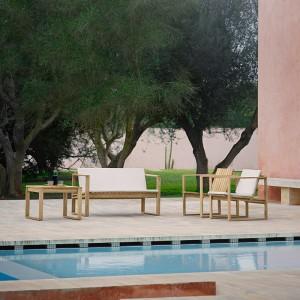 sillón y sofá de exterior Carl Hansen outdoor