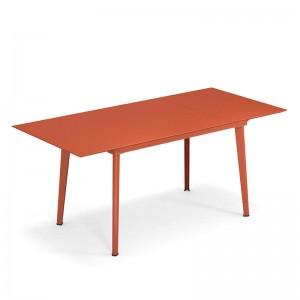 mesa de exterior extensible Plus 4 Balcony Emu rojo arce