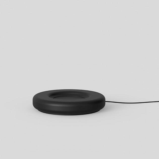 base de carga lámpara portátil Nox Astep negra