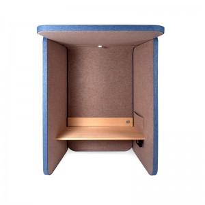 cabina Booth fonoabsorbente Vilagrasa azul