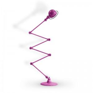 Jieldé lámpara de pie Loft D9460 púrpura