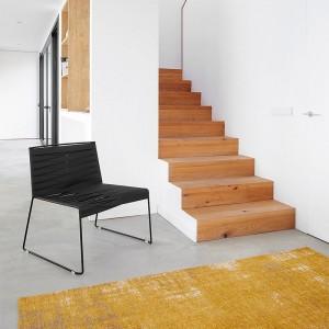 Indecasa silla lounge Espiga negra ambiente