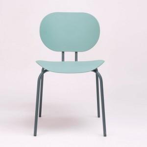 silla Hari polipropileno Ondarreta azul Cantábrico