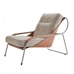 sillón Maggiolina piel 0814+tocco32003