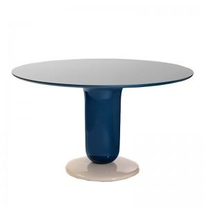 Explorer Dining table diámetro 130 multicolor blue