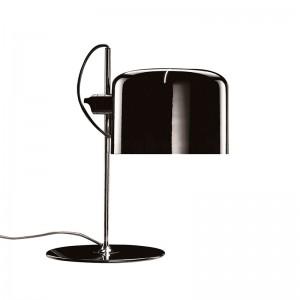 Oluce lámpara de sobremesa Coupè 2202 negra