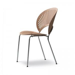 Fredericia Trinidad chair roble lacado perfil
