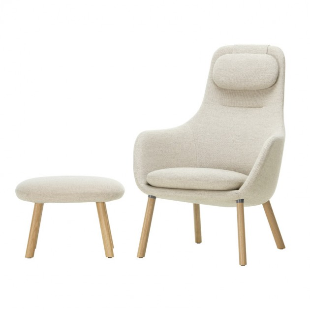 Vitra sillón Hal lounge chair & Ottoman