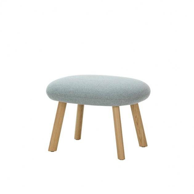 HAL lounge chair ottoman roble