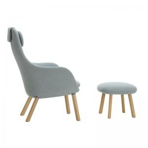respaldo Vitra sillón Hal lounge chair & Ottoman