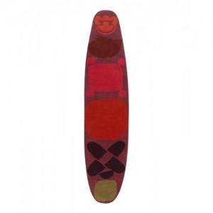Alfombra Surf Race Índico rojo - Gan Rugs