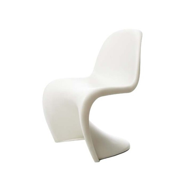 silla Panton chair Vitra blanca
