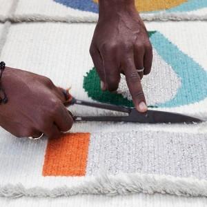 Alfombra Rabari 1 artesanal Nanimarquina