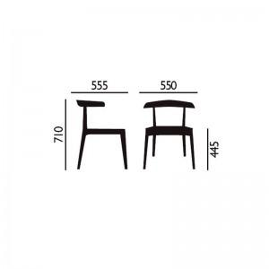 dimensiones silla Carola Andreu World